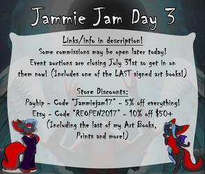 Last Day Of Jammie Jam