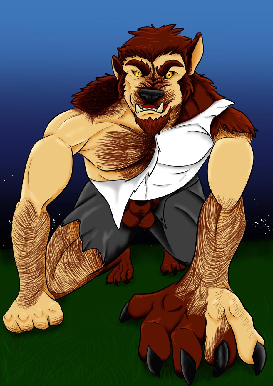 Werewolf Transformation Heartlessfang