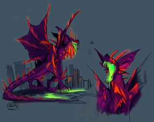 PacificRim!Kaiju Magnus