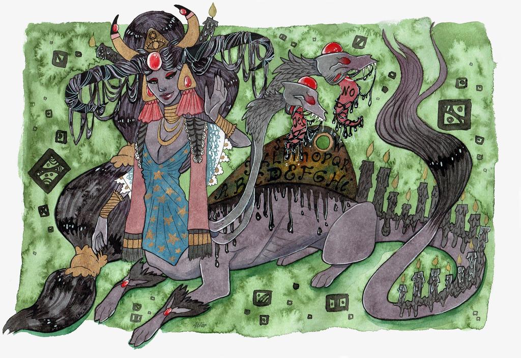 Ouija demon taur