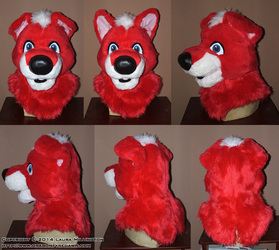 Red Toon Pup