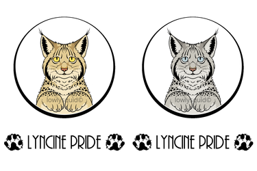 Lyncine Pride Badges