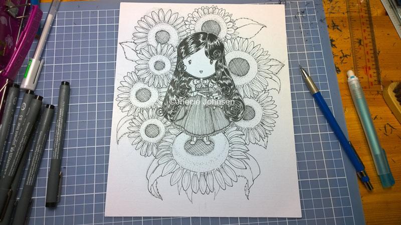 Sunflowers Wispy©