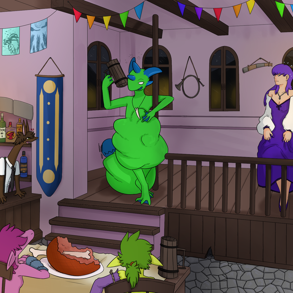 Most recent image: Festival Feasting (+ Story)