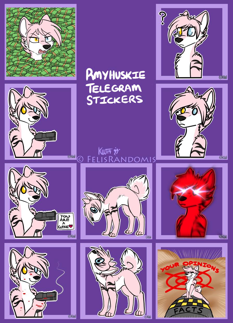 RMYHuskie Telegram Stickers 4