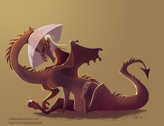 Cone of Shame Dragon