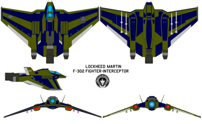 micron's second alt mode, a custom f-302 fighter