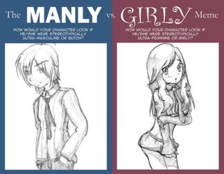 Meme: Manly v Girly Meme