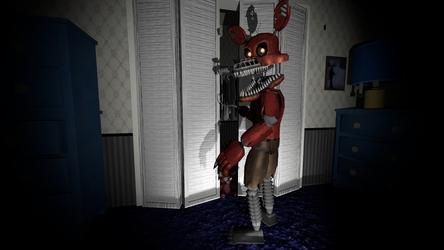 SFM FNAF 4 Nightmare Foxy