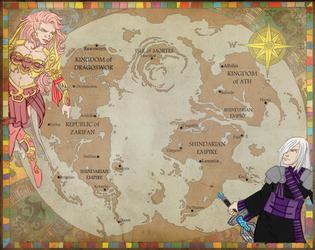 Evalas Map