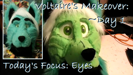 Voltaire's Makeover: Day 1