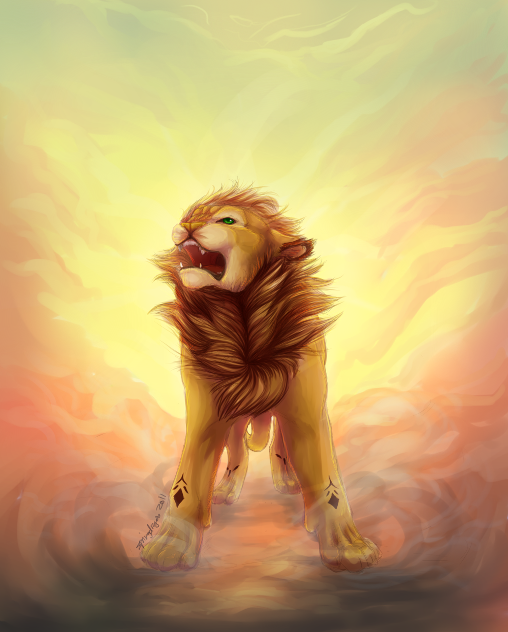 Dawn Lion