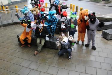 BristolFurs Meet January 2016 Group Photo