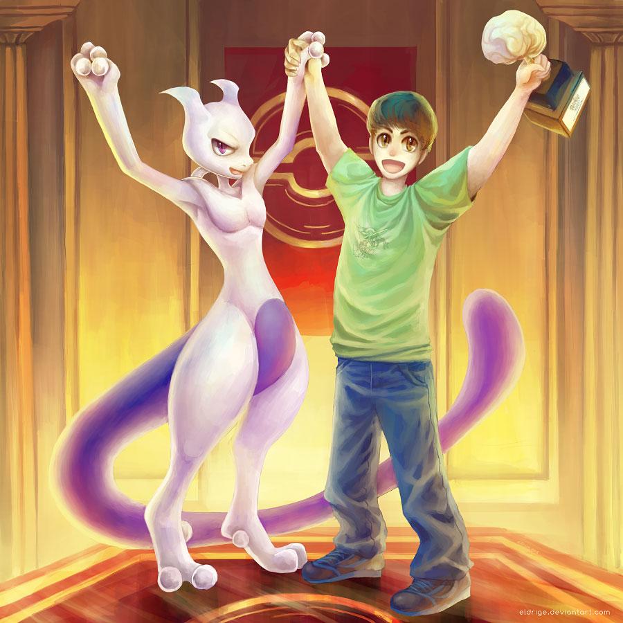 The Mewtwo Codex: World Championship 2006 - art by eldrige