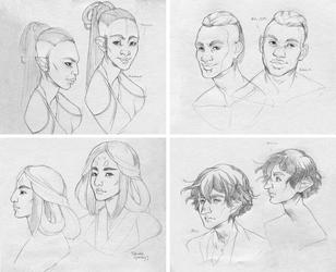 Character Development Previews