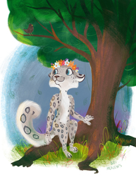 Snow Leopard Girl