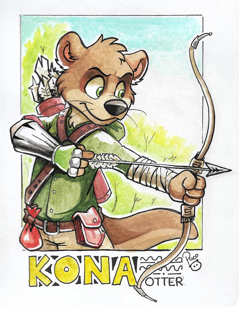 BLFC badge: Kona Otter