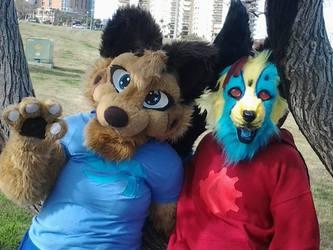 Furry Duo