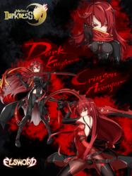 Dark Knight / Crimson Avenger Poster
