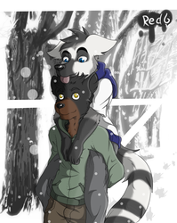 [Commission]Strolling in the snow