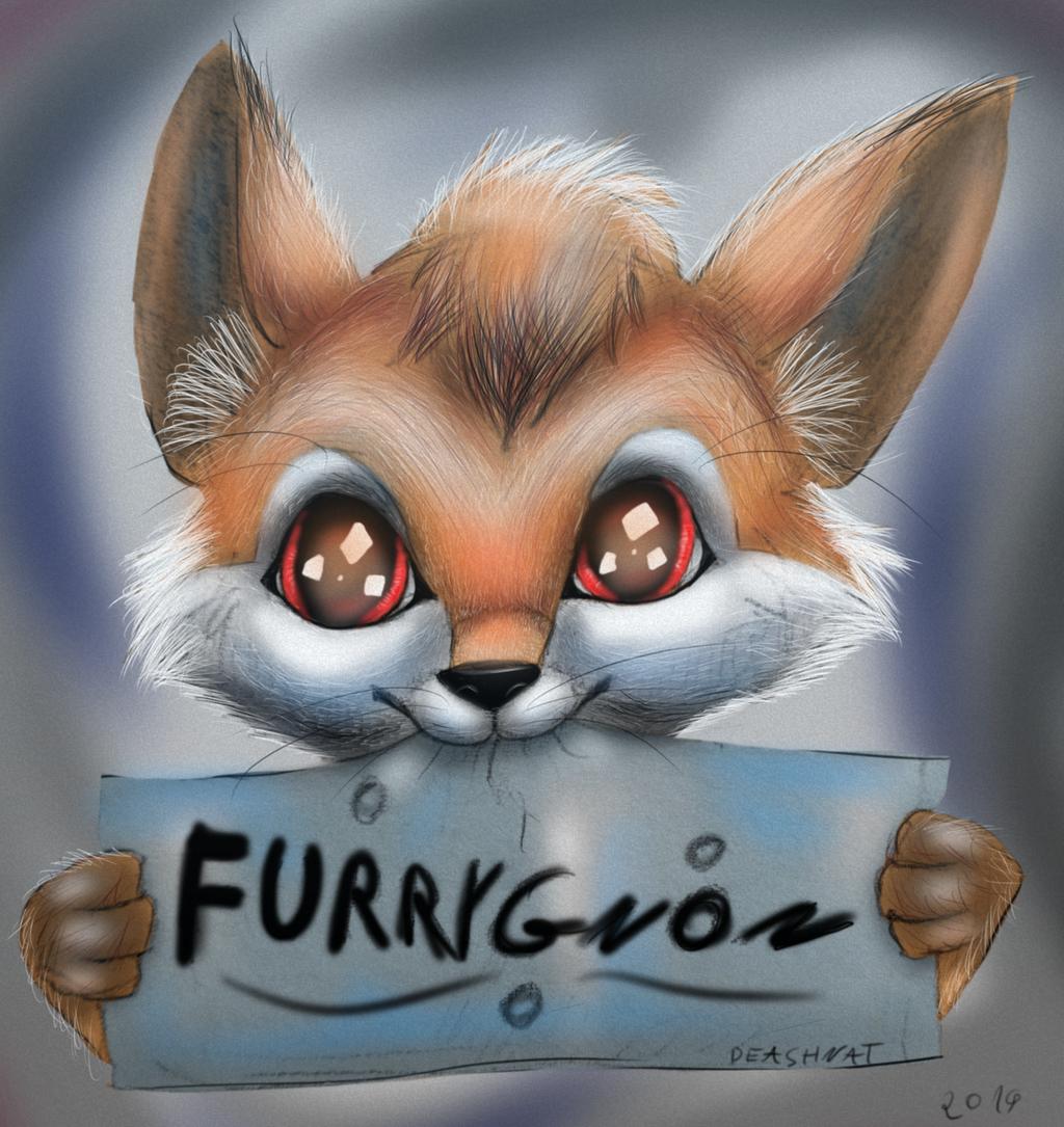 Fox logo kawai