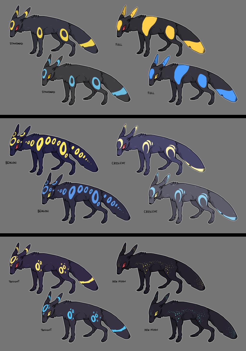 Umbreon Variations