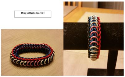 Dragonflank Bracelet for Winter