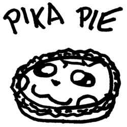 Pika Pie - Sticky Note Doodles