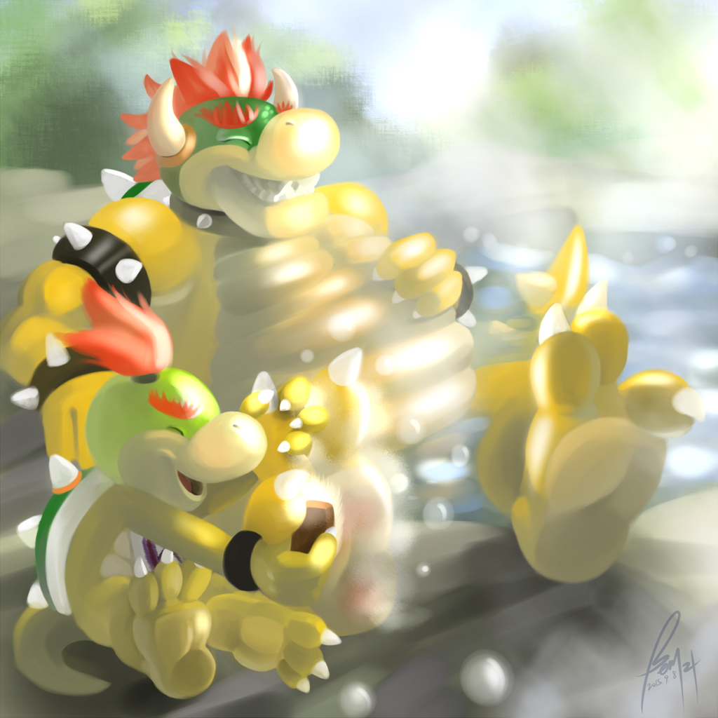 Belated Bowser Day D: