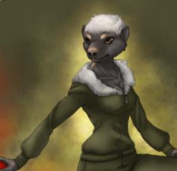 Irritated Badger