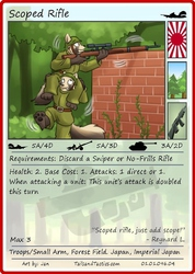 Tails and Tactics: Preview of: Scoped Rifle
