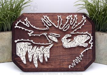 String art: Elk