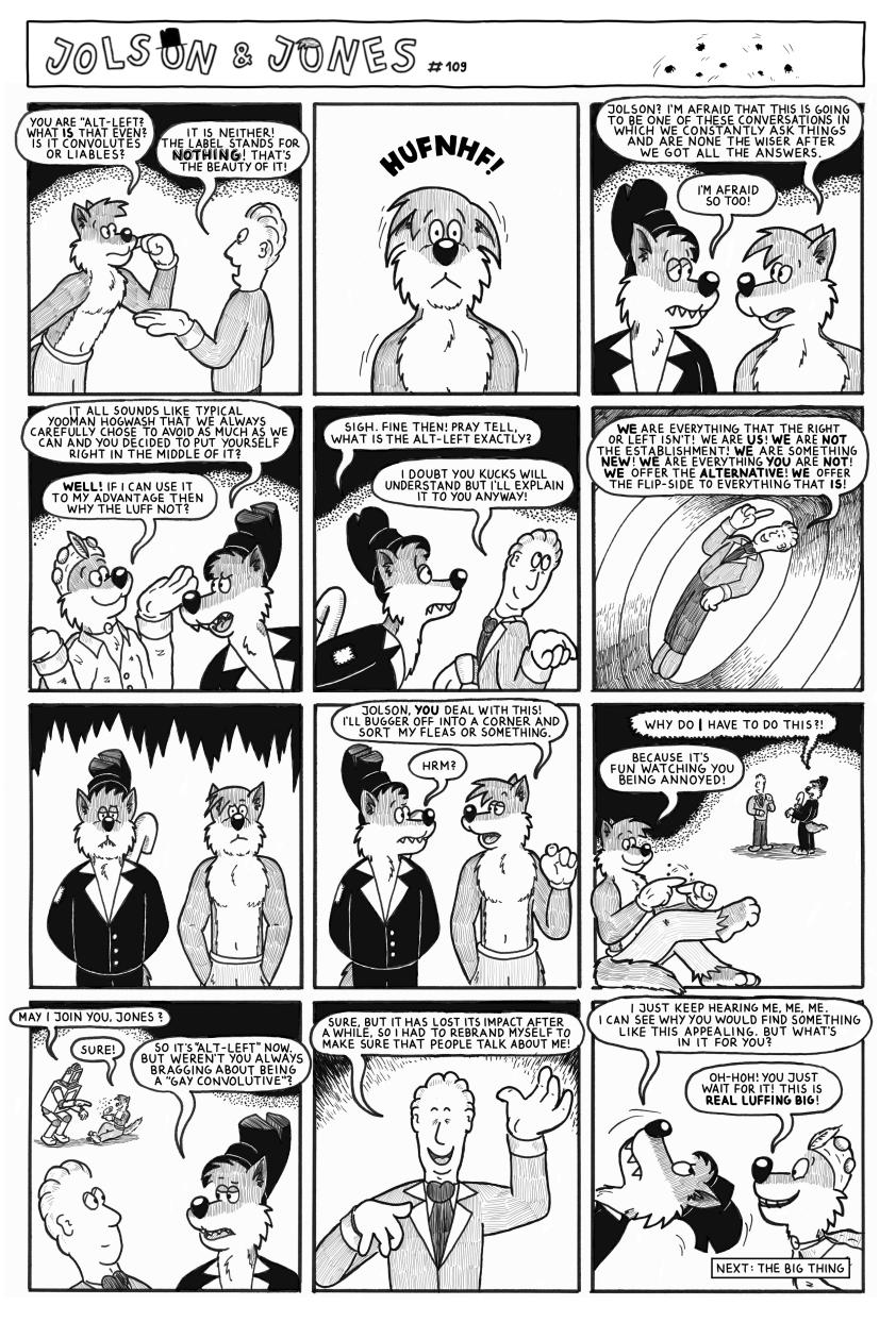 Jolson & Jones #109 - Putting the Fleas Into Line