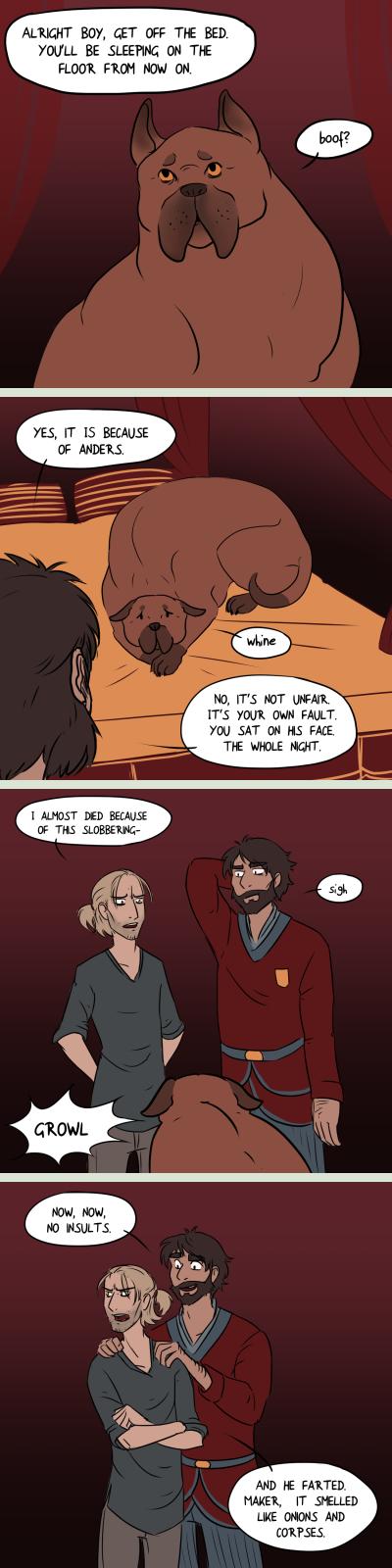 DA2: Dog Problems