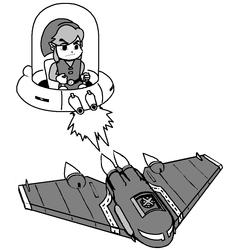 Toon Link VS Black Heart