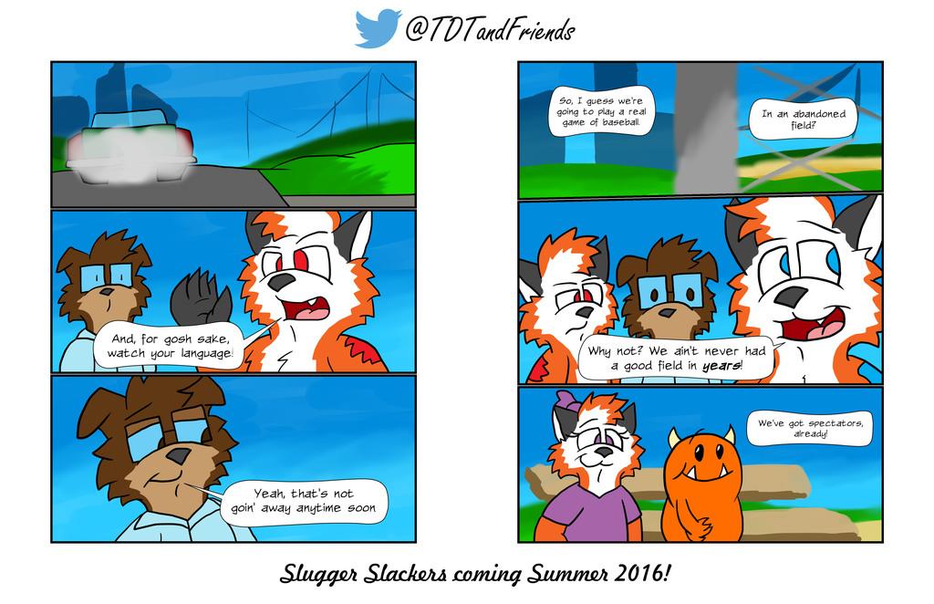 TDTxTSGO: Slugger Slackers - Sneak Peek #2