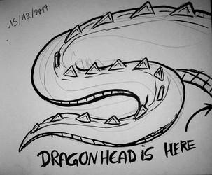 Dragonhead's tail
