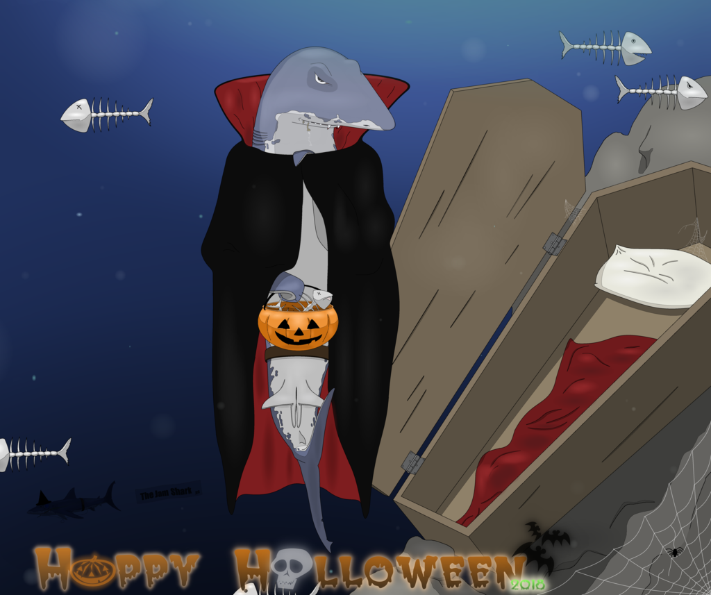 Most recent image: The Jam Shark - Happy Halloween 2018