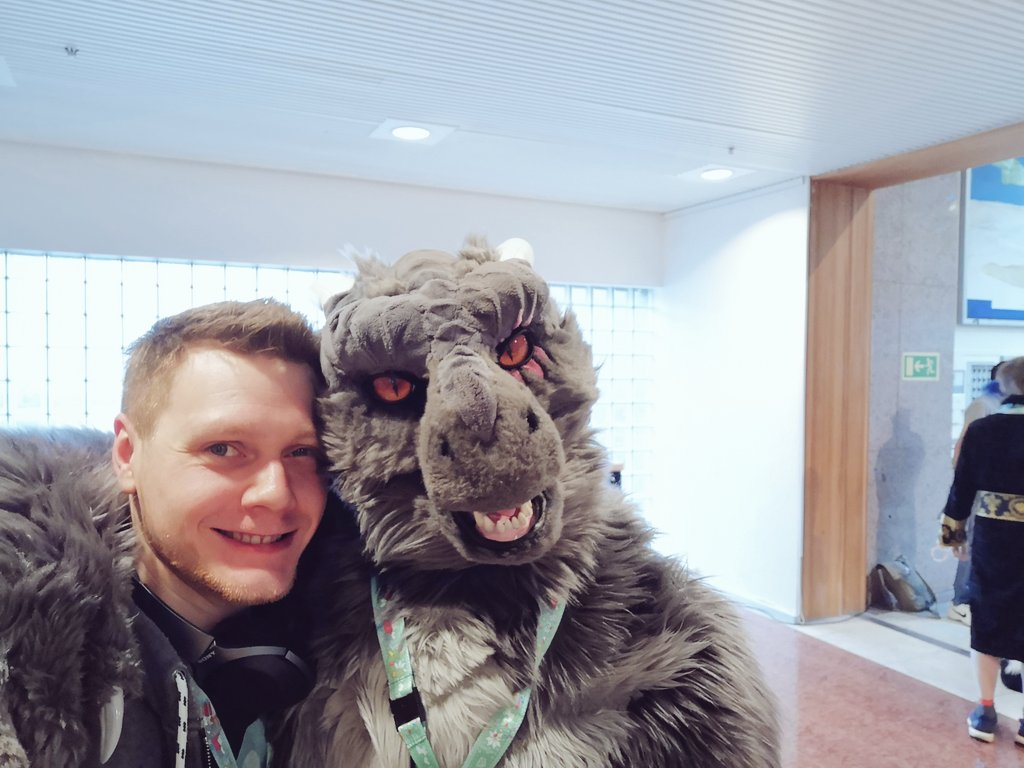 NFC2019 ''A Dragon And Another Fursuit Selfie''
