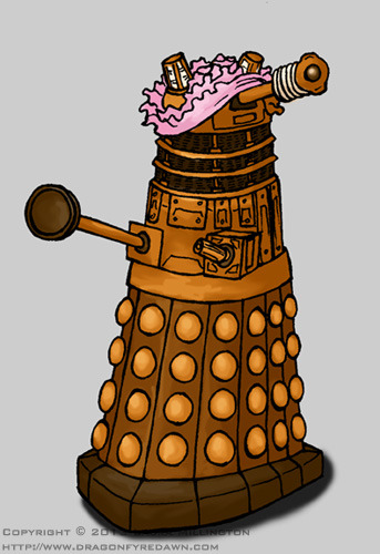 Dalek in Panties