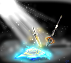 Dracc's weapons (Holy light edition™)