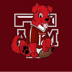 Red the Texas Aggie Pup
