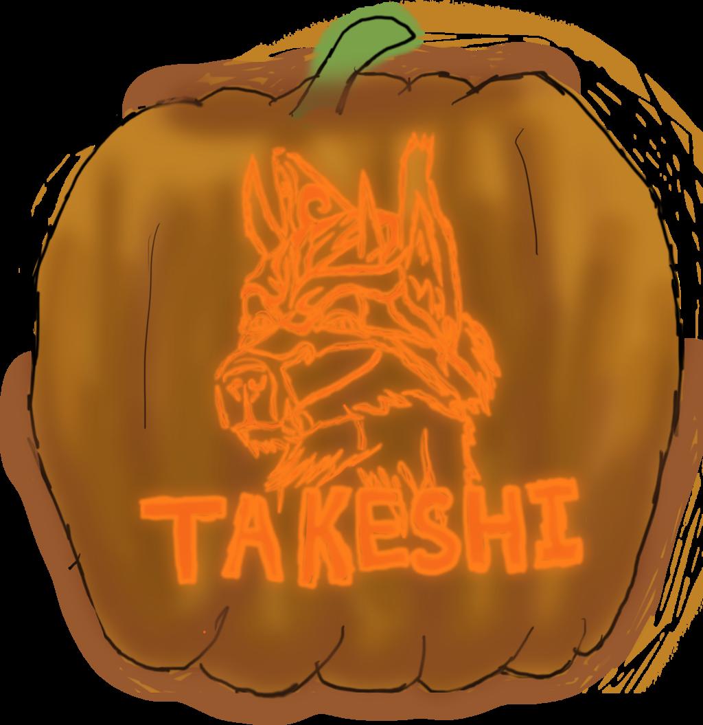 Jack-O-Lantern Badge - Takeshi