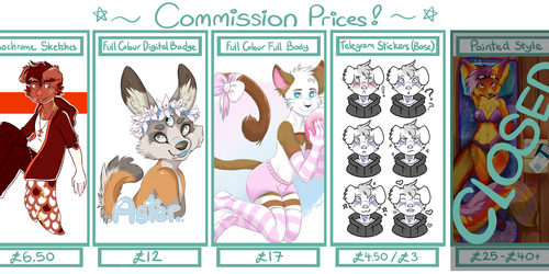 COMMISSIONS OPEN!!! ~