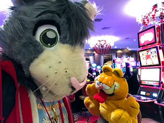 Peter and Garfield Casino Time (BLFC18)