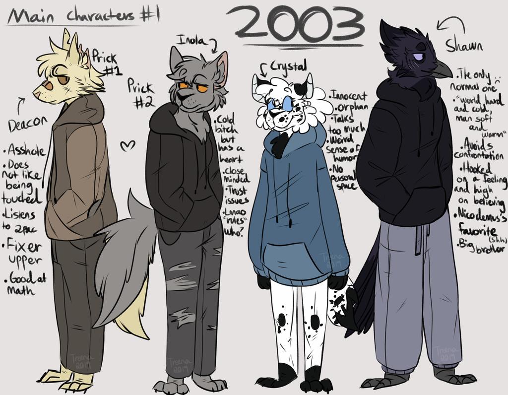 2003 main characters - #1