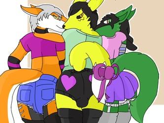Femboy trio 3