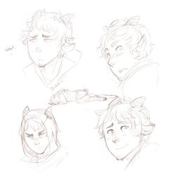 satyr sketches