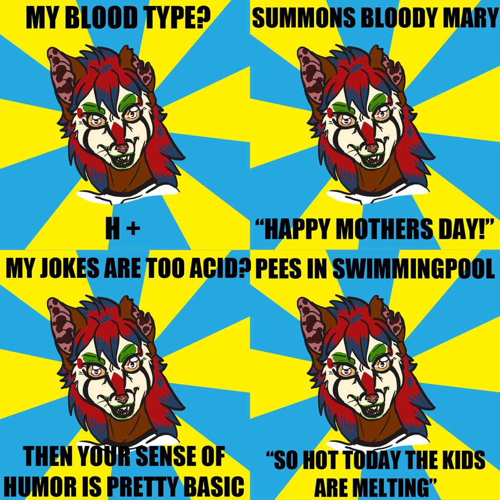 Acid Genet meme x4, starring Garci
