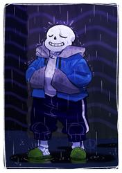 Undertale: It's Raining Somewhere Else